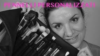COME PERSONALIZZARE I PROPRI PENNELLI.... con un po' di colore! | Mya Beauty Thumbnail
