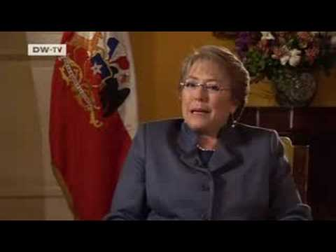 People and Politics | Michelle Bachelet - Chile's President