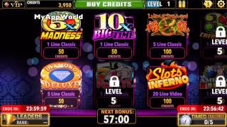 Downtown Deluxe Vegas Slots - Free Classic Slot Machines Gameplay HD 1080p 60fps