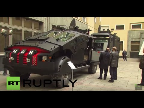 Russia: Putin meets 'The Punisher' - the FSB's MONSTER armoured vehicle