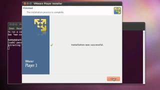 Linux Ubuntu : Vmware Player installation