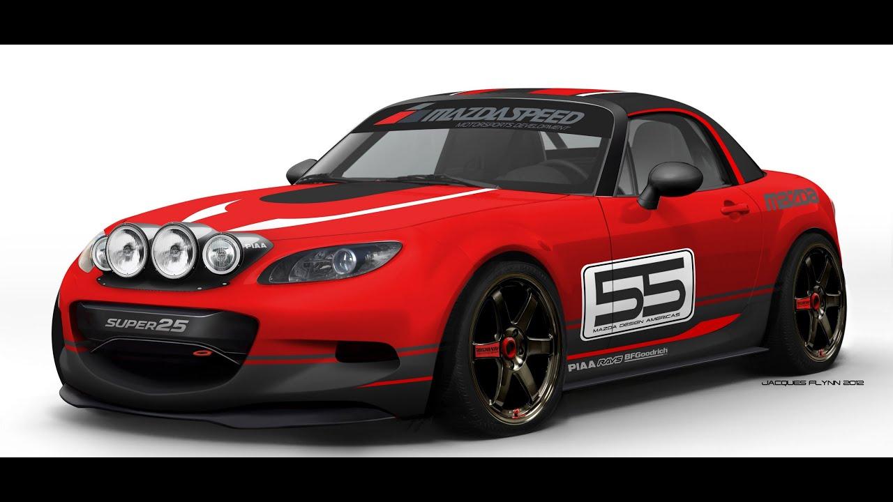 Build A Mazda >> Mazda CX5 & Mazda MX5 Miata Custom Build for SEMA 2012 @ Mazda Design - YouTube