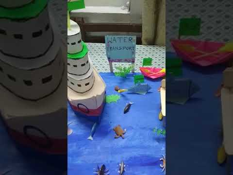 Water transport school project