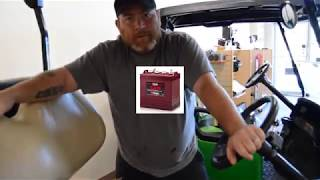 Identifiying Your Golf Cart Batteries