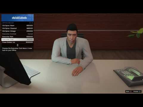 GTA V Online - Male Executive Assistant Outfit Showcase - Finance and Felony