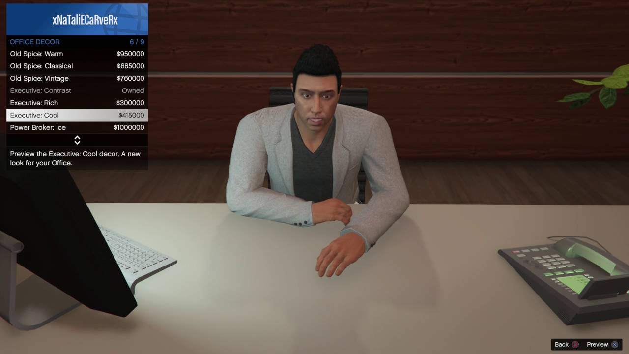 gta v online male executive assistant outfit showcase
