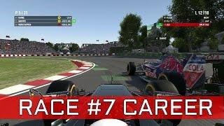 f1 2016 game race 7 canada   rosberg crash   heerlijk gevecht met sainz   nederlands dutch