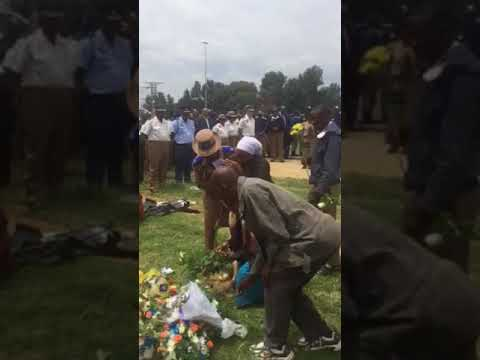 Emotions run at memorial service for two JMPD officers