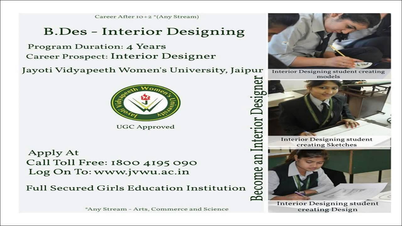 Admission Interior Designing Jvwuacin