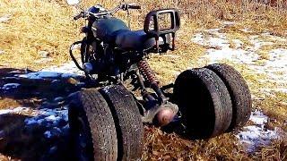 трайки из Мотоцикла Урал !