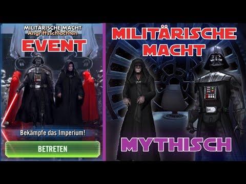 Star Wars Galaxy of Heroes - Militärische Macht Event Mythischer Rang- SWGOH Deutsch / German