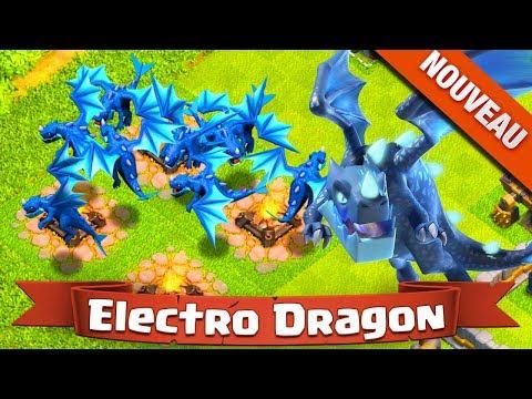 NOUVEAU L'ELECTRO DRAGON EN VIDEO ! Clash of Clans Mise à Jour HDV 12