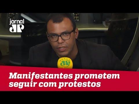 Em São Paulo, Manifestantes Prometem Seguir Com Protestos Na Régis Bittencourt   Jornal JP