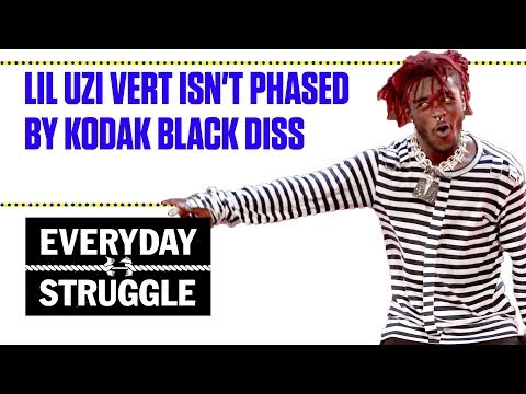 Lil Uzi Vert Isn't Phased By Kodak Black Diss | Everyday Struggle