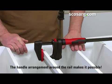 NEW Bessey GearKlamp - for Cabinet Assembly and fitting on site or in the Workshop