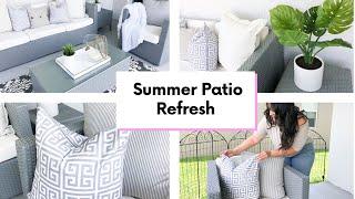 SUMMER PATIO REFRESH | PATIO INSPIRATION