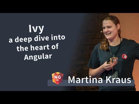 Angular's New Renderer Ivy: A Deep Dive Into The Heart Of Angular - Martina Kraus   NG-DE 2019