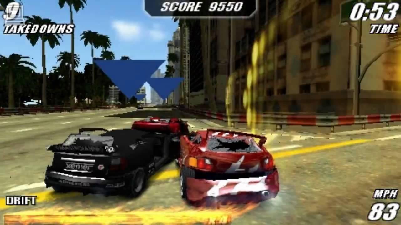 Image result for Burnout Legends PSP