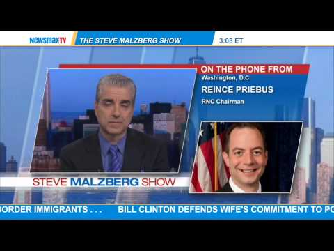 Reince Priebus -- chairman of the Republican National committee