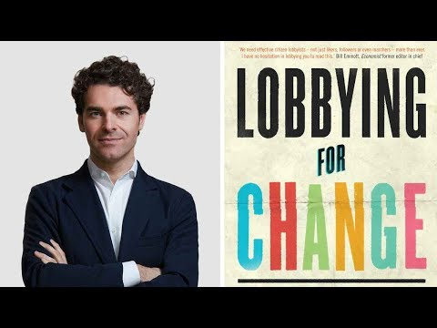 Why everyone should be a lobbyist - with Alberto Alemanno