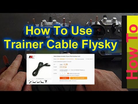 [How to use] Trainer cable Flysky i6 transmitter / Coach cable / Banggood