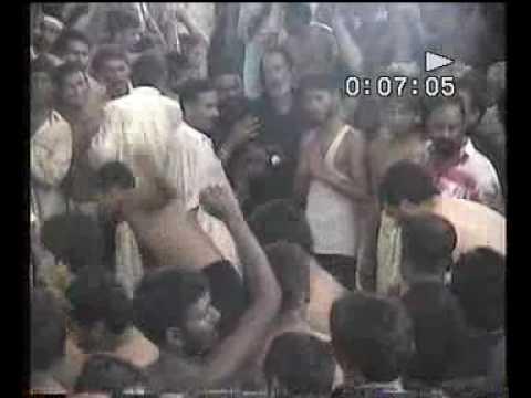 Matam In Sehvan Shareef (Lal Shahbaz Qalandar) , Matmi Sangat Sarkar-e-Joan)