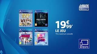 Publicité des jeux PlayLink | PS4