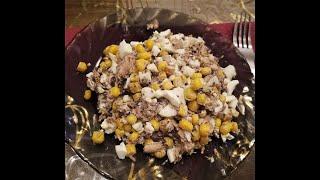 ПП Ужин : Салат из тунца № 2. ПП рецепт.