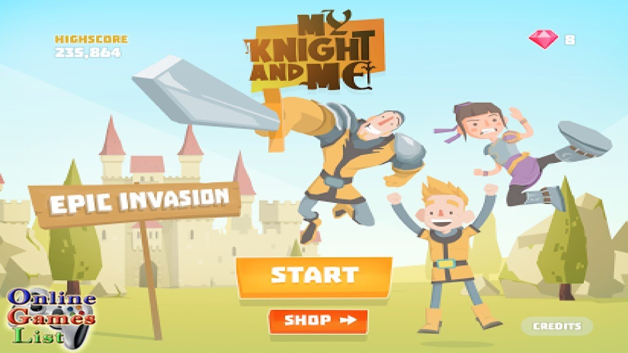 My Knight and Me - Epic Invasion Gameplay (Android)