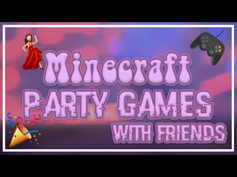 Minecraft Party Games | With Chloeheart, Rosii gamer, Centaur | Nona