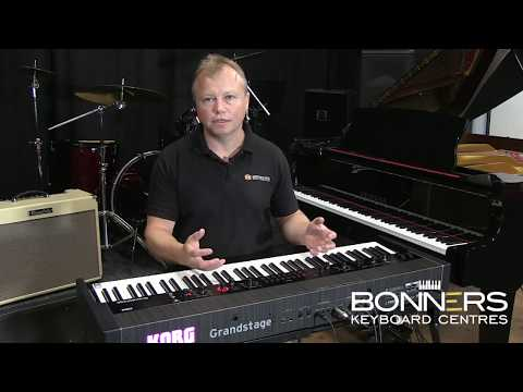 Korg Grandstage | The Ultimate UK Review & Demo For Stage Keyboard Players