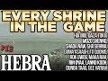 Every Shrine in Hebra Tower - Hia Miu, Rin Oyaa, Dunba Taag, & More! - Zelda Breath of the Wild