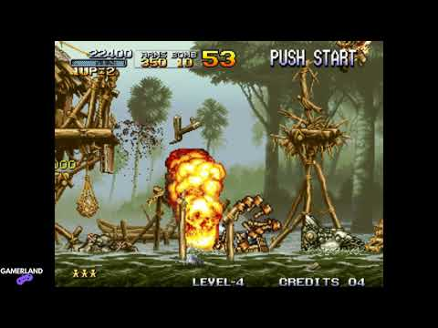 Metal Slug 1: Grenade Show Ending Game (No Any Weapons Bullets) [4K ᵁᴴᴰ 60ᶠᵖˢ] |