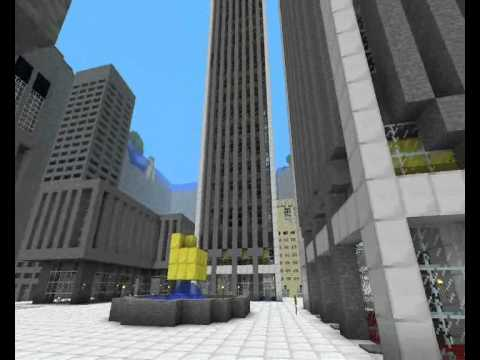 Minecraft 9 11 11 Twin Towers Tribute Youtube