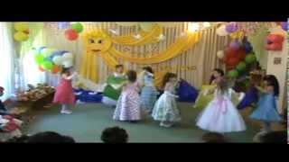 танец с полотнами 2013 выпускной