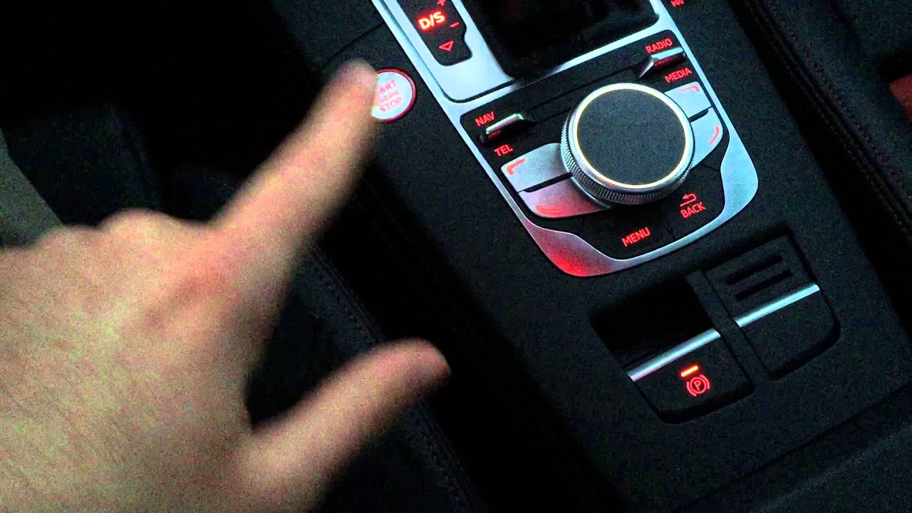 2015 Audi A3 S3 Electronic Parking Brake Tip Youtube