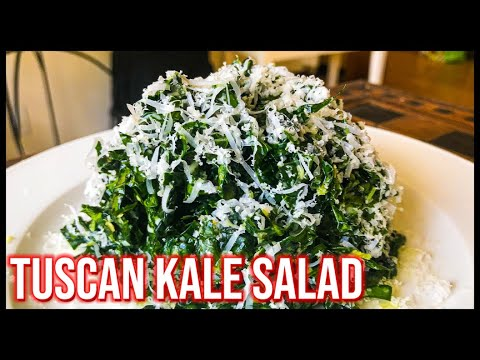 Tuscan Kale Salad | Kale Salad Recipes