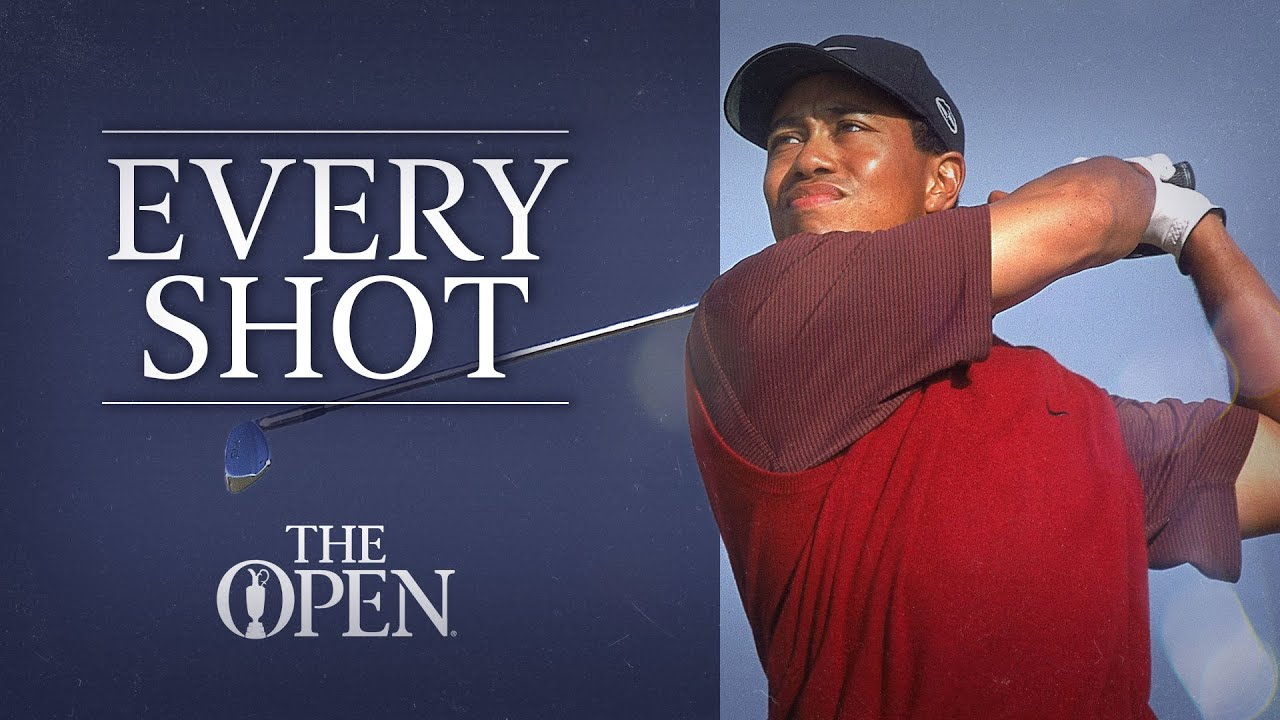 Every Shot of Tiger's Win   The 129th Open at St Andrews