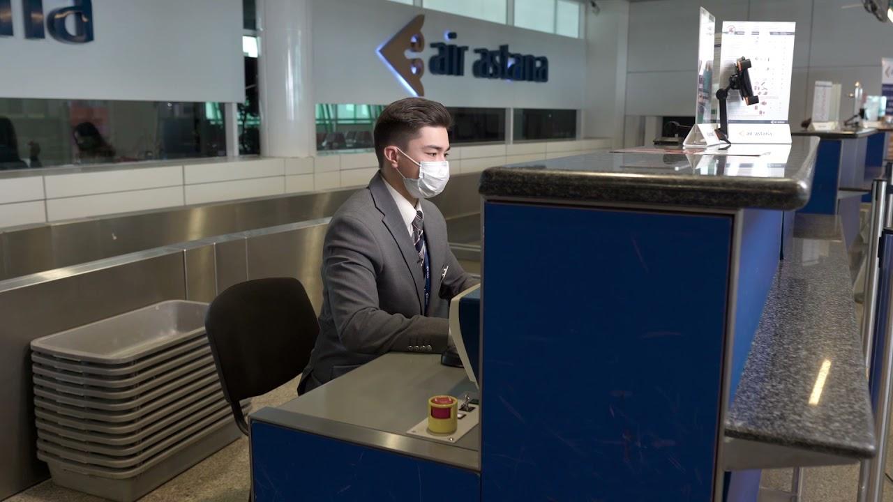 Air Astana компаниясының Жолаушыларға жерде қызмет көрсету агентімен бір күн
