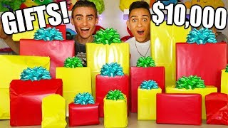 ME AND MY BROTHER SPEND $10,000 ON EACHOTHER! (SUPER EMOTIONAL)