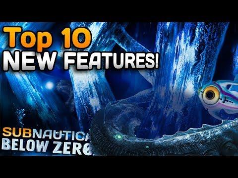 Top 10 NEW Subnautica: Below Zero Features & Leviathans! (No Spoilers)