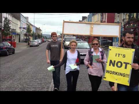 BALLYHEA & CHARLEVILLE Bank Bondholder Bailout Protest, week 79.wmv