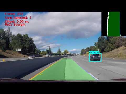 Vehicle Detection & Lane Finding using OpenCV & LeNet-5 (2/2)