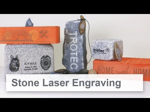 Stone Laser Engraving - Which Stone Types A Laser Can Engrave