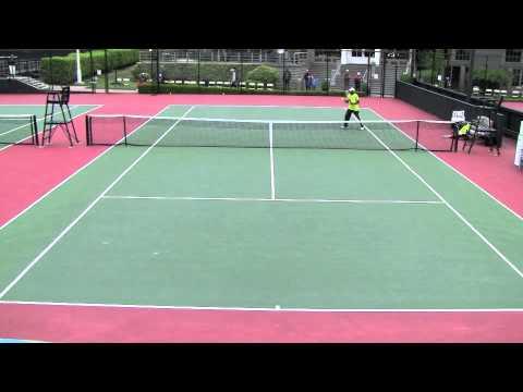 2011 Pacific Coast Seniors Tennis Tournament - Martinez vs. Pierce (Part 2)