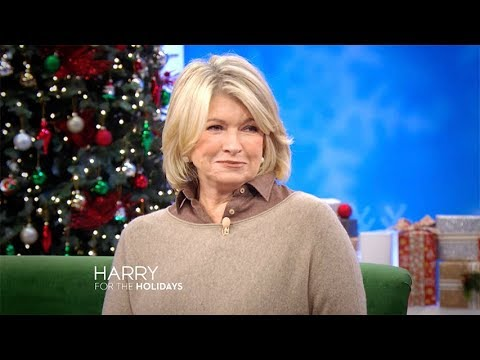 THURSDAY! Martha Stewart & Harry Performs One of His Holiday Classics!