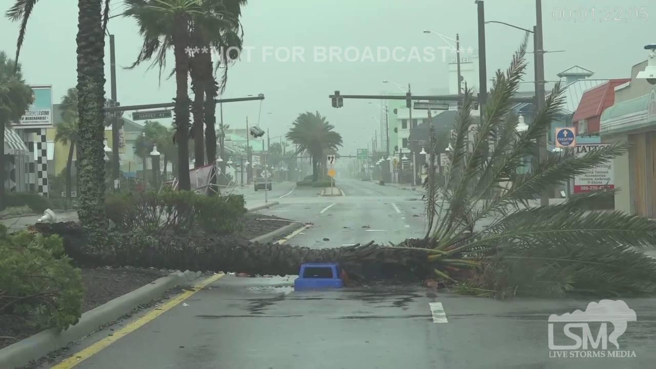 Daytona Beach Fl Surge Flooding Damage 10 7 16