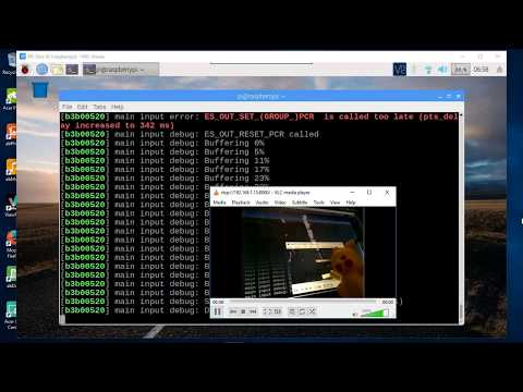 Raspberry Pi: Stream Video To VLC Player, Using Rtsp Protocol.