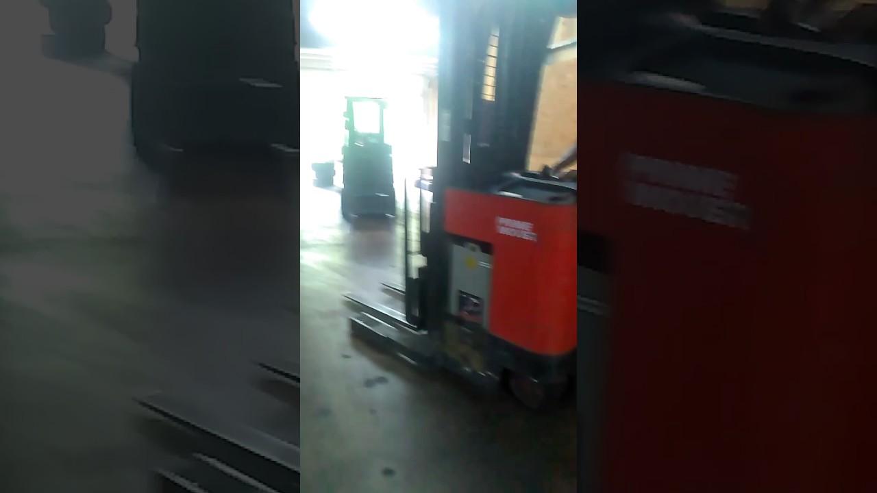 Reach Truck Training 2nd Chance Forklift Training Academy Llc Youtube