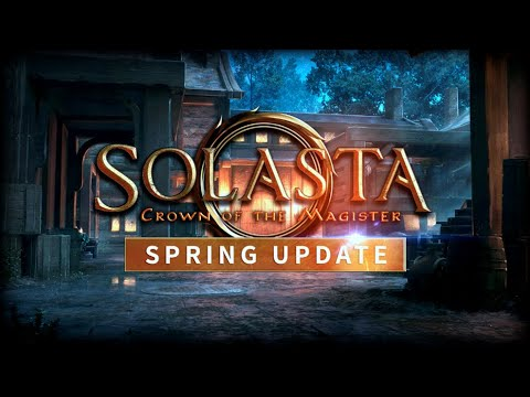 Solasta: Crown of the Magister - Spring Update Dungeon Maker tool create and customise dungeons  